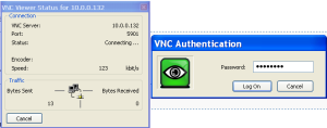 UltraVNC authentication