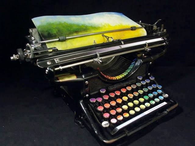 Pastel Typewriter