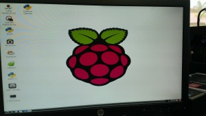 Raspberry Pi desktop screenshot