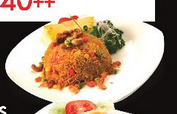 The Pineapple rice did look like this! Stole this pic from their website :x