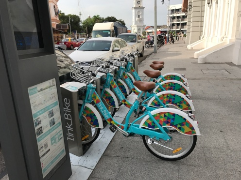 Rent a bike to ride around the town