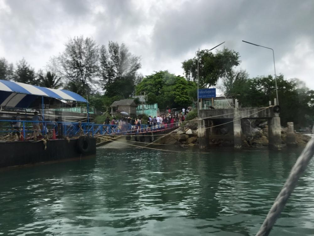 Phuket Marine Customs Pier at Phuket from Royal Caribbean cruise