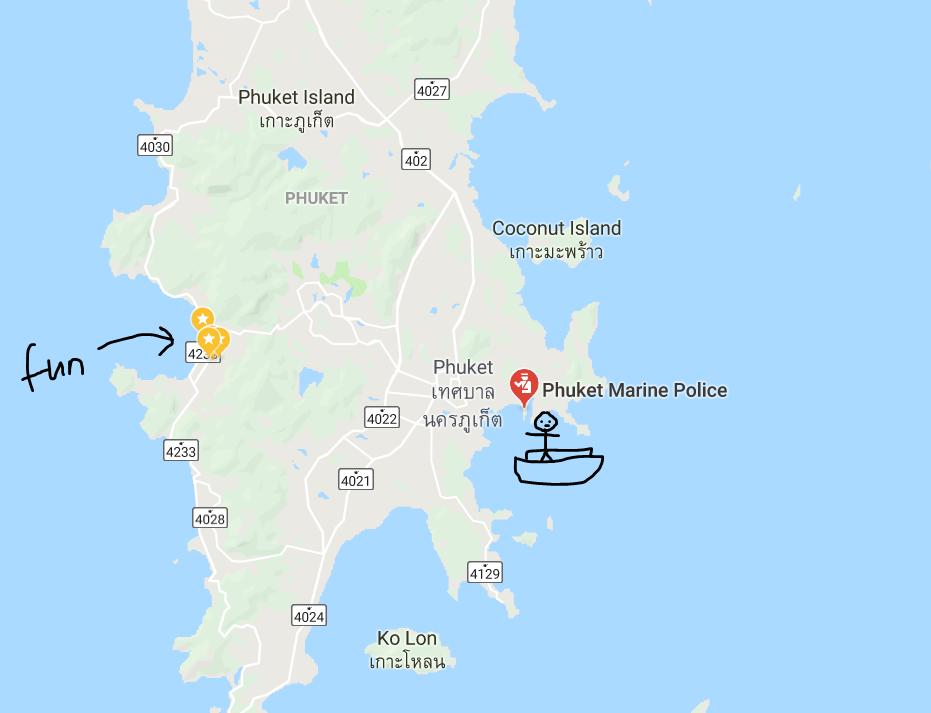 where royal Caribbean stop at Phuket